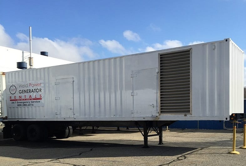 1000 KW - 2000 KW Generator Rental 