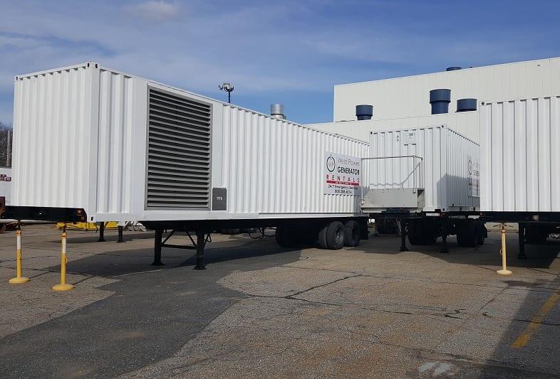 500 KW - 900 KW Generator Rental