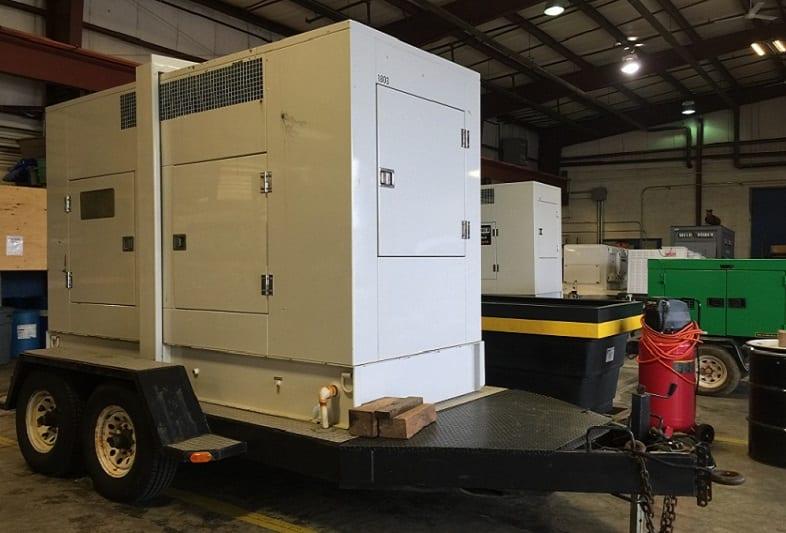 20-100kw generator rental