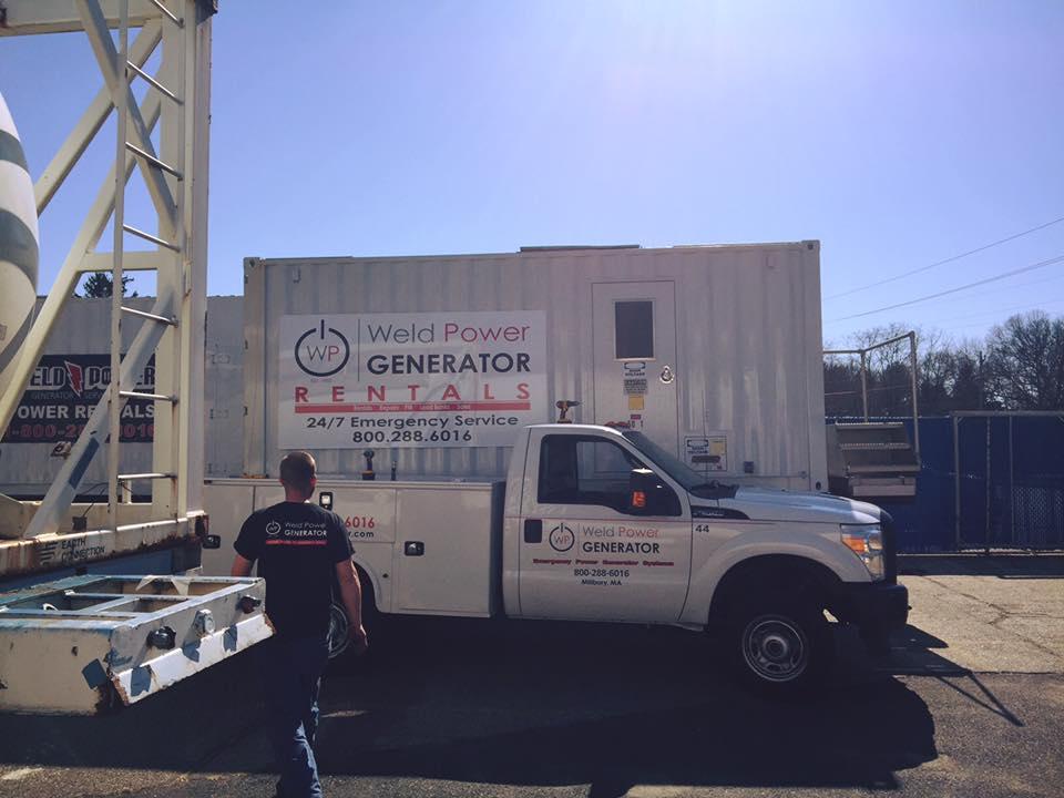 Weld Power Generator Rentals