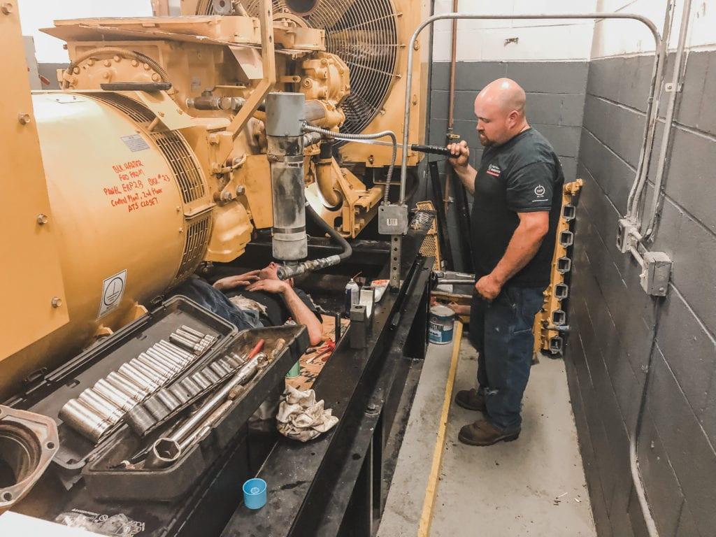Generator Service - Weld Power Generators