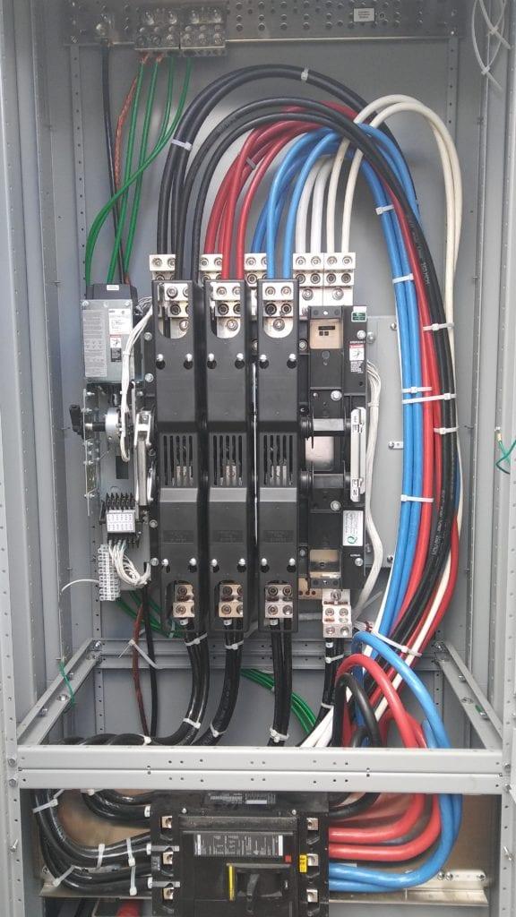automatic transfer switch maintenance